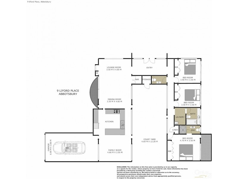Abbotsbury NSW 2176 Floorplan