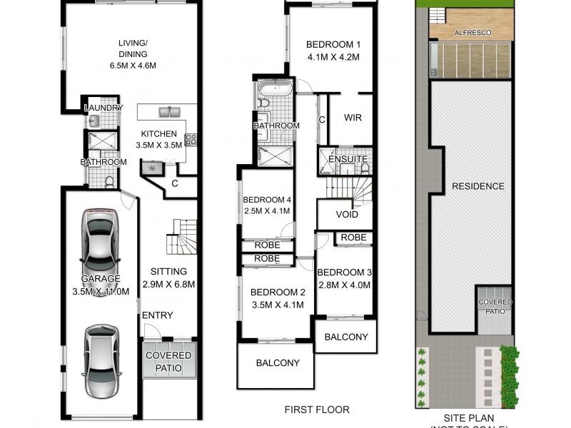 18a Lindsay Street, Panania NSW 2213 Floorplan