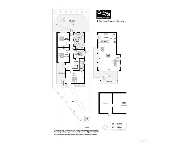 6 Seaview Street, Clovelly NSW 2031 Floorplan