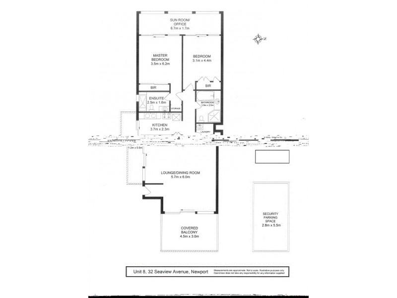 8/32 Seaview Avenue, Newport NSW 2106 Floorplan