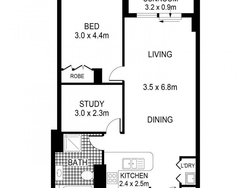 298 Sussex Street, Sydney NSW 2000 Floorplan