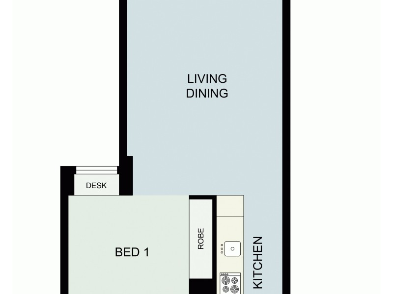 60 Bathurst, Sydney NSW 2000 Floorplan