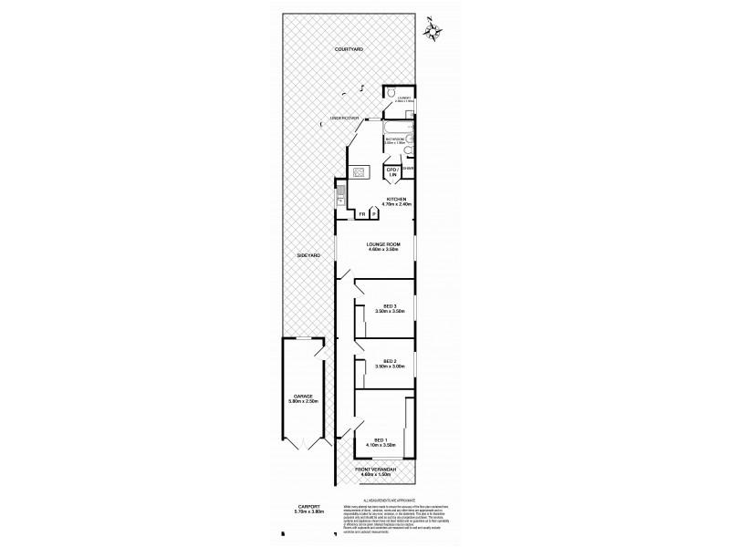 5 Station Street, Tempe NSW 2044 Floorplan