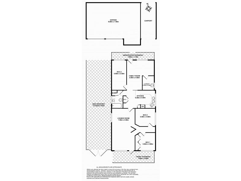 49 Shenton Avenue, Bankstown NSW 2200 Floorplan