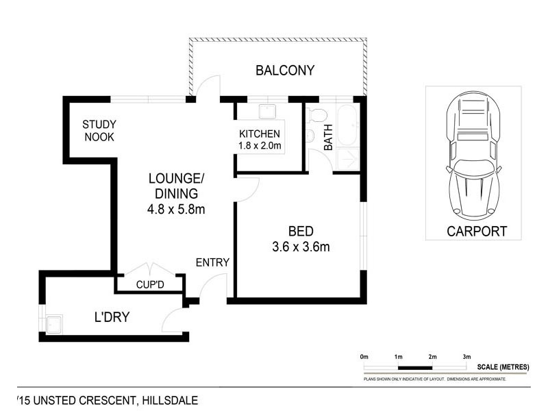 6/15 Unsted Crescent, Hillsdale NSW 2036 Floorplan