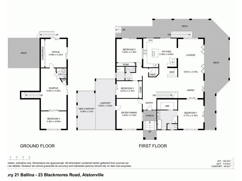 23 Blackmores Road, Alstonville NSW 2477 Floorplan