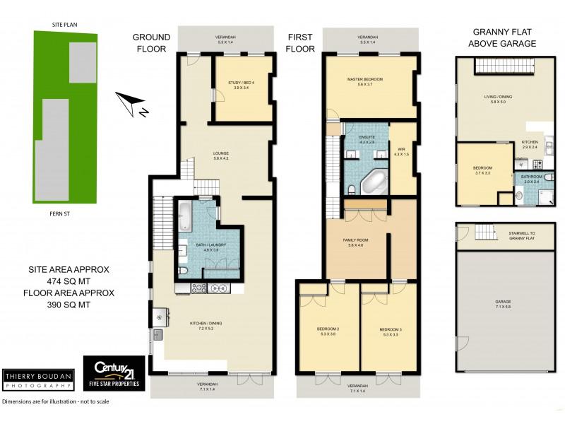 23 Fern Street, Islington NSW 2296 Floorplan