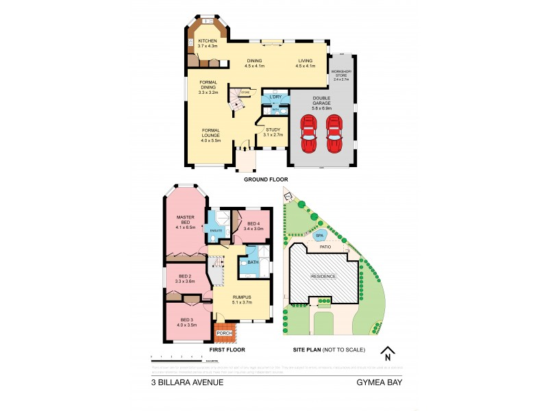 3 Billara Avenue, Gymea Bay NSW 2227 Floorplan