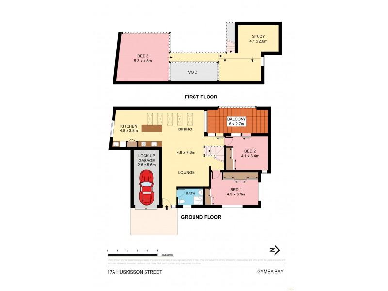 17a Huskisson Street, Gymea Bay NSW 2227 Floorplan
