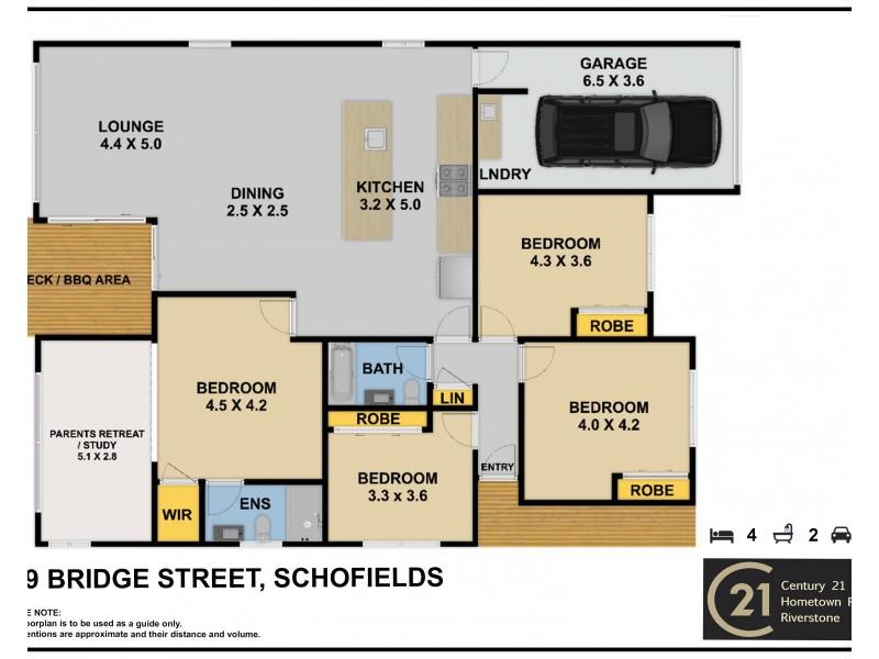 149 Bridge street, Schofields NSW 2762 Floorplan