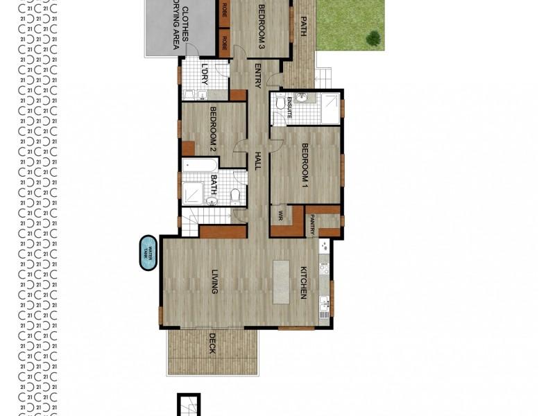 21 Rosedale Avenue, Hazelbrook NSW 2779 Floorplan