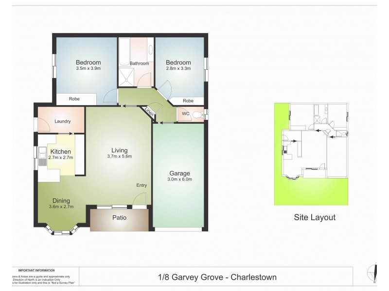 1/8 Garvey Grove, Charlestown NSW 2290 Floorplan