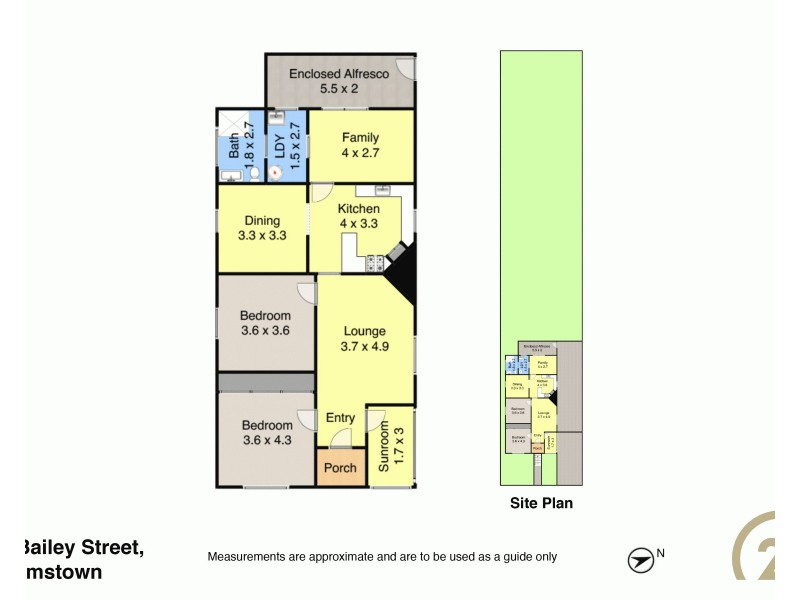 46 Bailey Street, Adamstown NSW 2289 Floorplan