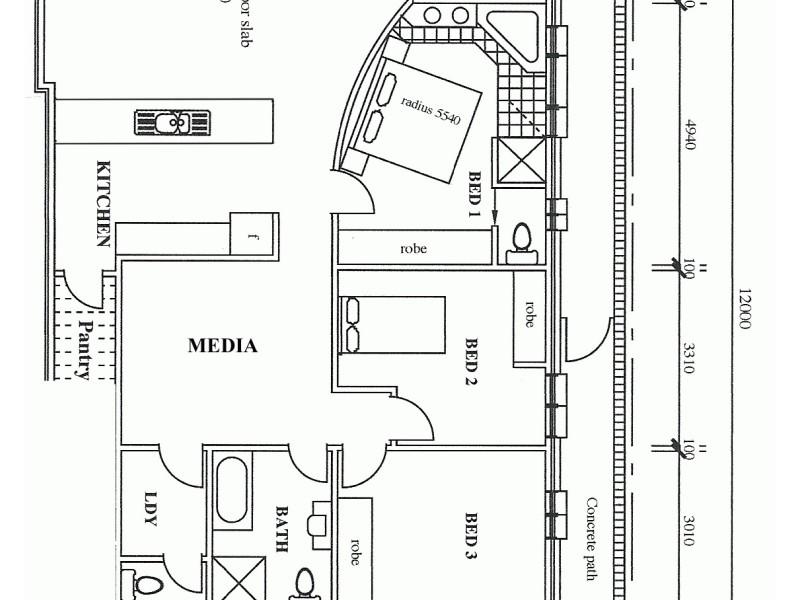 4/50 PACIFIC CRESCENT, Maianbar NSW 2230 Floorplan