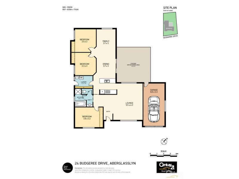 24 Budgeree Drive, Aberglasslyn NSW 2320 Floorplan
