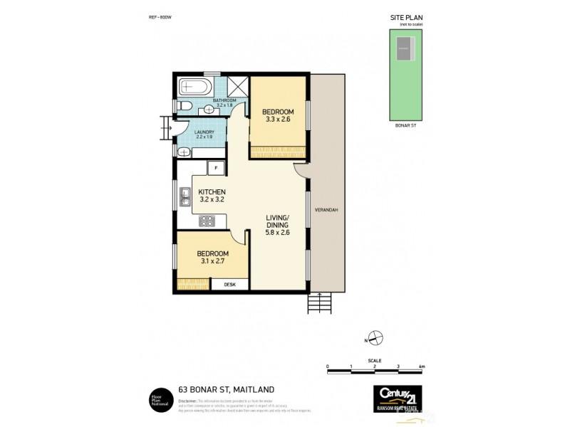 63 Bonar Street, Maitland NSW 2320 Floorplan