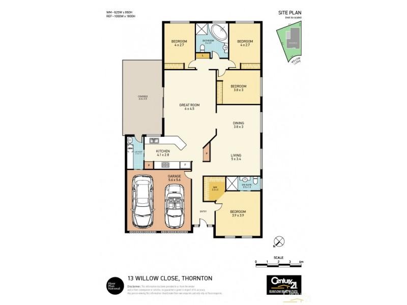 13 Willow Close, Thornton NSW 2322 Floorplan