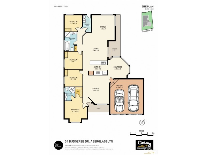 54 Budgeree Drive, Aberglasslyn NSW 2320 Floorplan