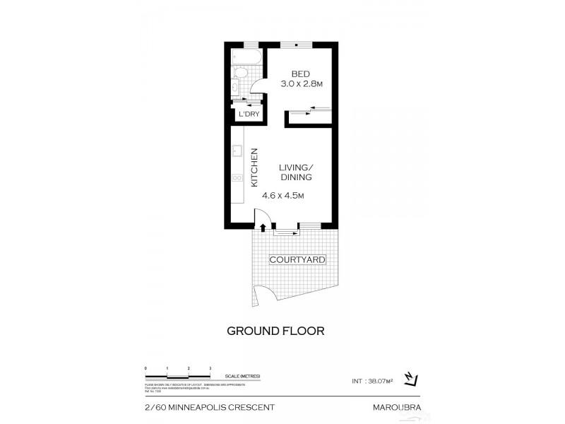 2/60 Minneapolis Crescent, Maroubra NSW 2035 Floorplan
