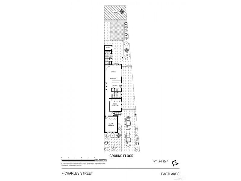 4 Charles Street, Eastlakes NSW 2018 Floorplan