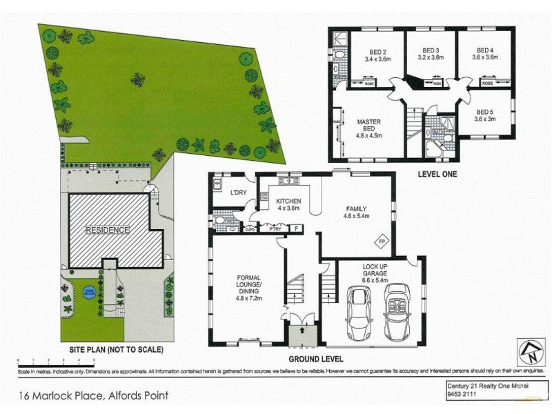 16 Marlock Place, Alfords Point NSW 2234 Floorplan