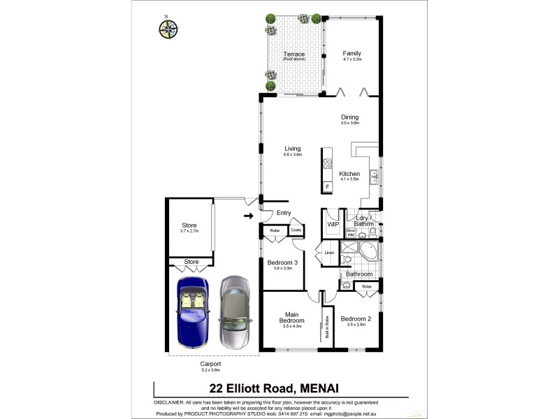 22  Elliott Rd, Menai NSW 2234 Floorplan