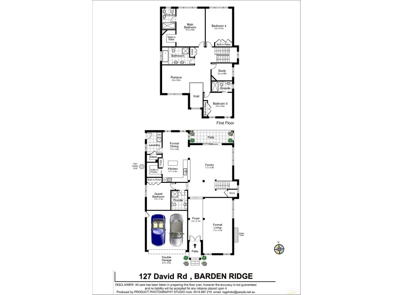 127 David Rd, Barden Ridge NSW 2234 Floorplan