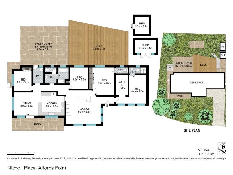 5  Nicholi Place, Alfords Point NSW 2234 Floorplan