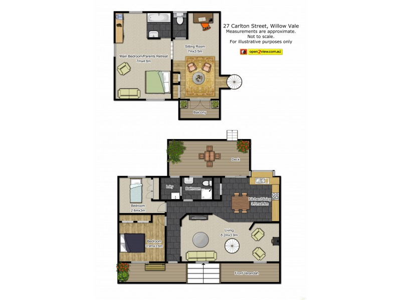 Willow Vale NSW 2575 Floorplan
