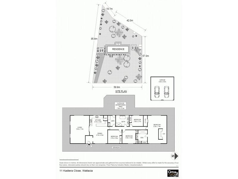 11 Kadiera Close, Wallacia NSW 2745 Floorplan