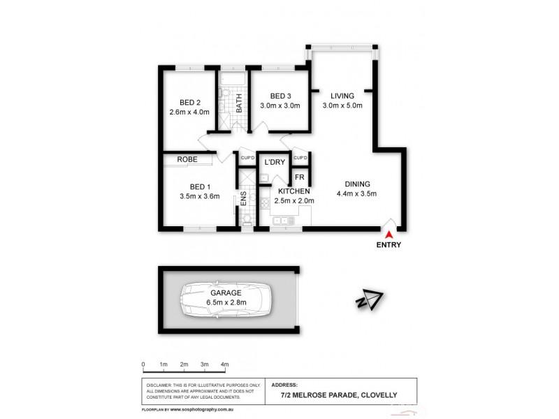 Clovelly NSW 2031 Floorplan