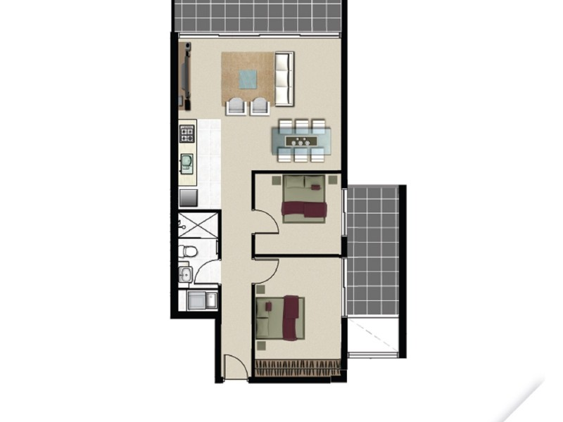 101/1-7 Waratah Avenue, Randwick NSW 2031 Floorplan