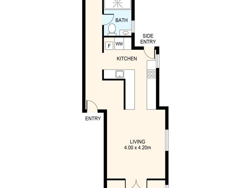 2/166 Queen Street, Woollahra NSW 2025 Floorplan