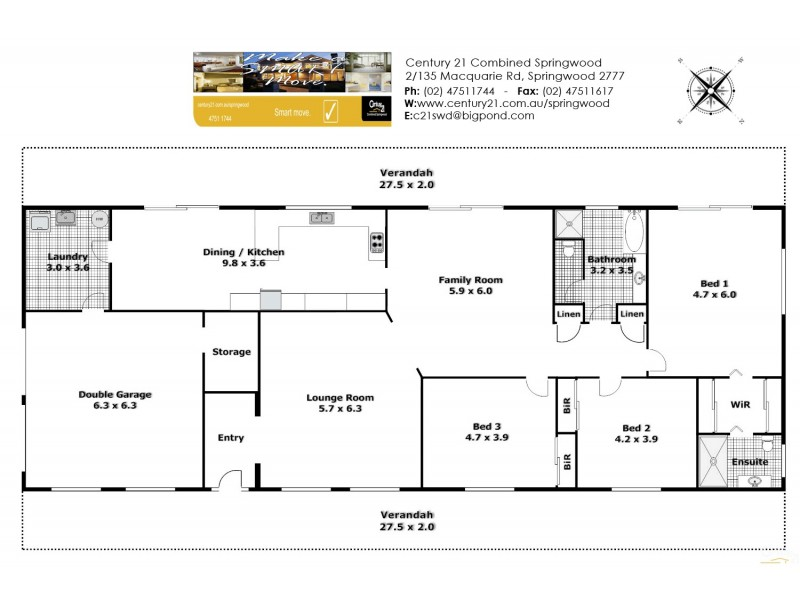 Hawkesbury Heights NSW 2777 Floorplan