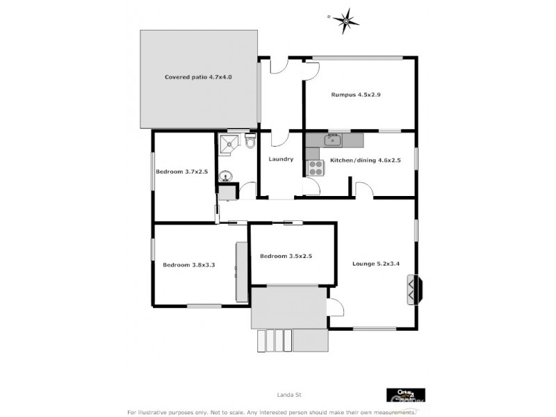 60 Landa St, Lithgow NSW 2790 Floorplan