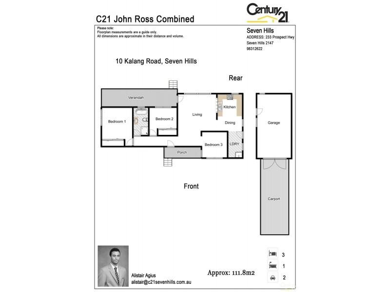 10 Kalang Road, Seven Hills NSW 2147 Floorplan