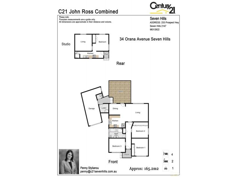 34 Orana Avenue, Seven Hills NSW 2147 Floorplan