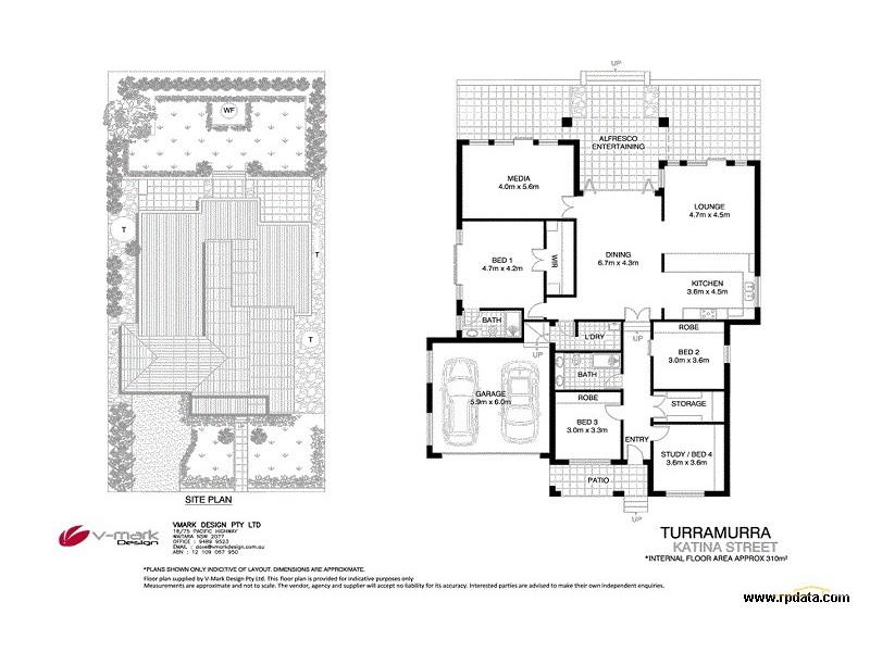 33 Katina Street, Turramurra NSW 2074 Floorplan