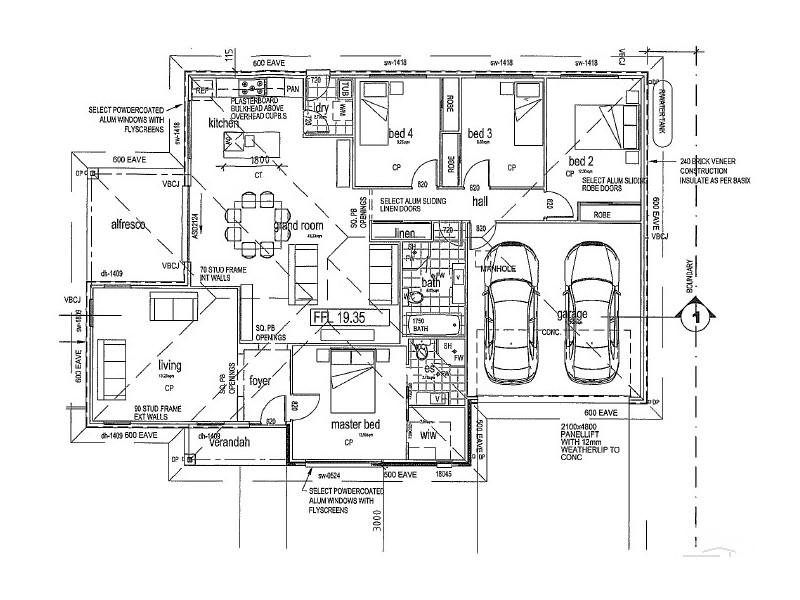 4 Village Grove, Caves Beach NSW 2281 Floorplan