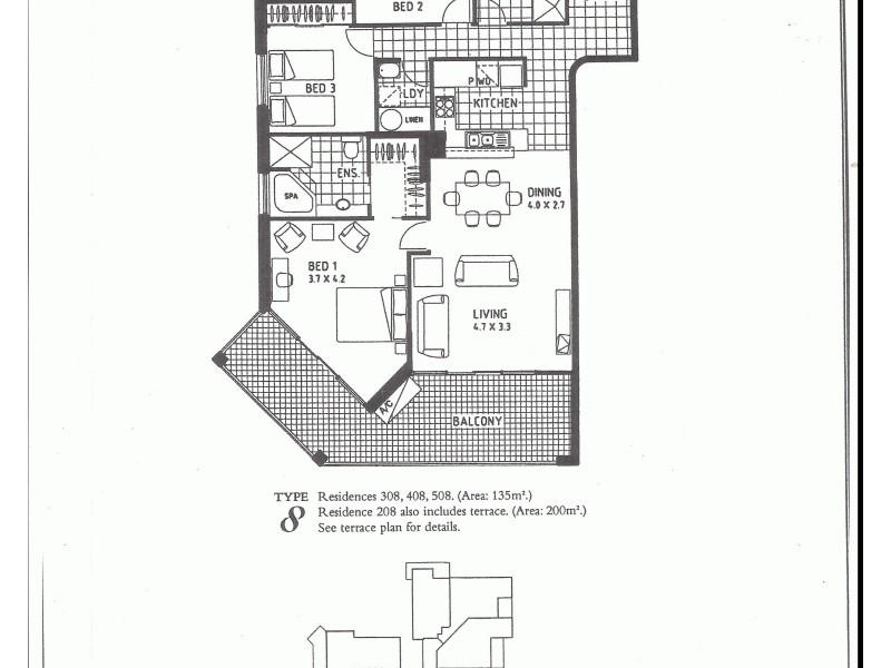 508/98  Alexandra Parade, Alexandra Headland QLD 4572 Floorplan