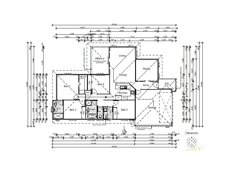 19 Mariana Court, Mango Hill QLD 4509 Floorplan