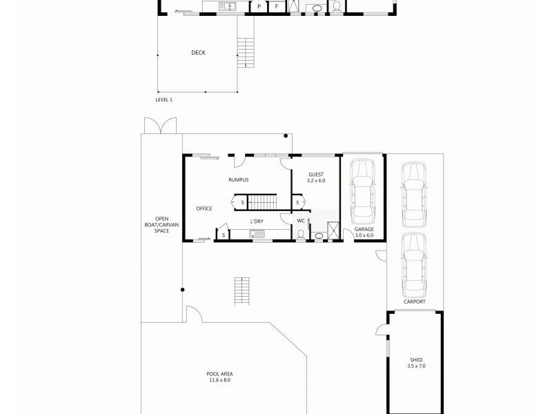 14 SALLOWS STREET, Pallarenda QLD 4810 Floorplan