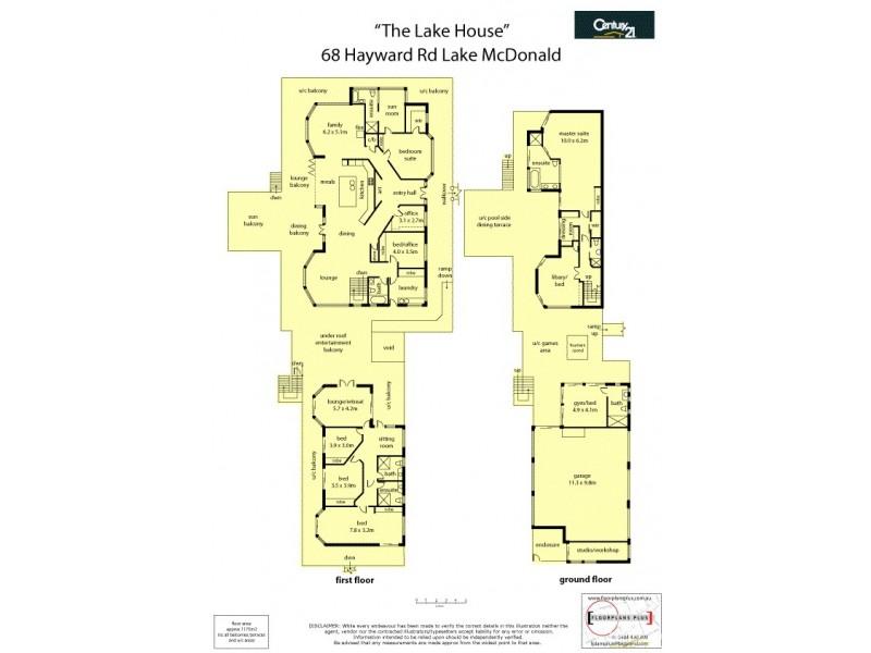 68 Hayward Road, Lake Macdonald QLD 4563 Floorplan