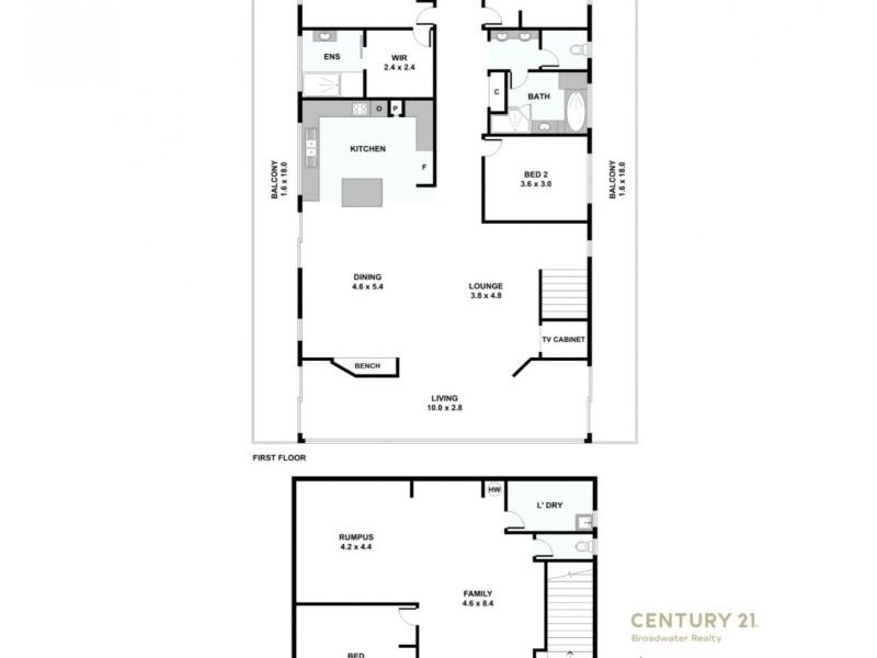 10 Parish Court, Molendinar QLD 4214 Floorplan