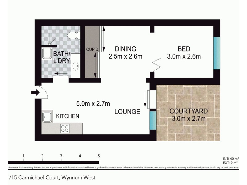 21/15 Carmichael Court, Wynnum West QLD 4178 Floorplan