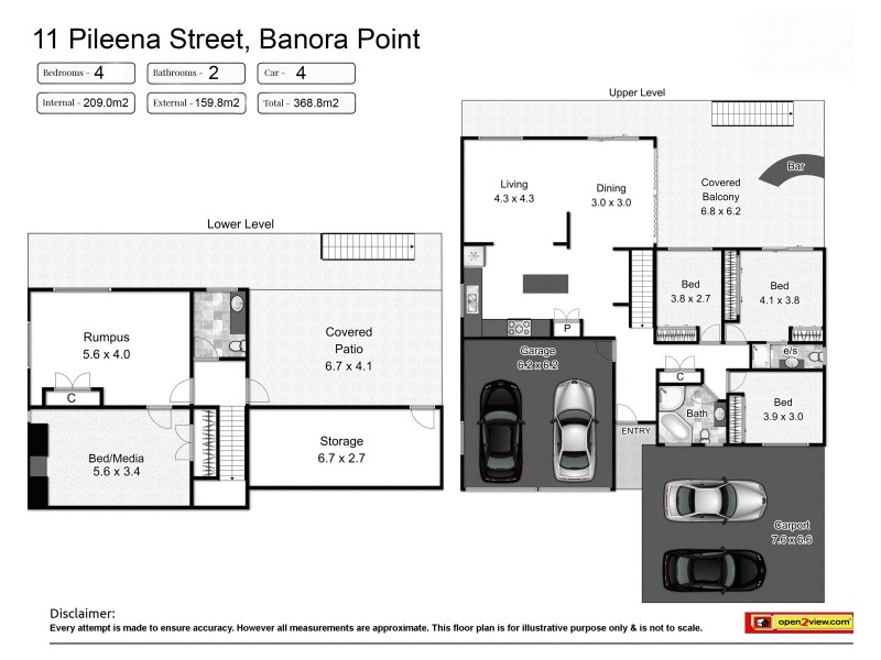 11 Pileena Street, Banora Point NSW 2486 Floorplan