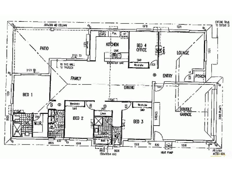 7 Terek Walk, Bohle Plains QLD 4817 Floorplan