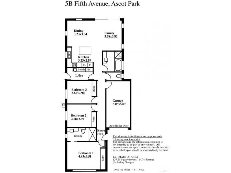 5 Fifth Avenue, Ascot Park SA 5043 Floorplan