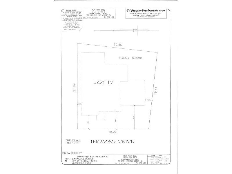 Lot 17 Thomas Terrace, Aberfoyle Park SA 5159