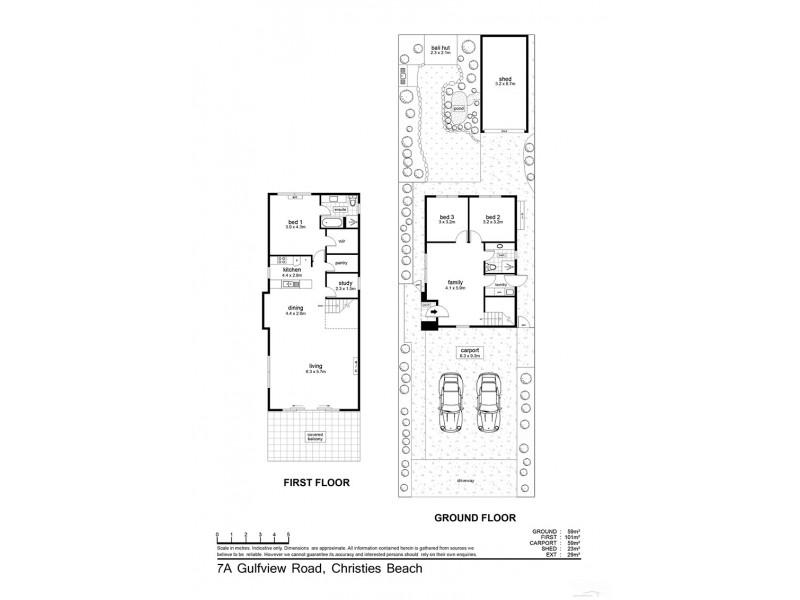 7A Gulfview Road, Christies Beach SA 5165 Floorplan